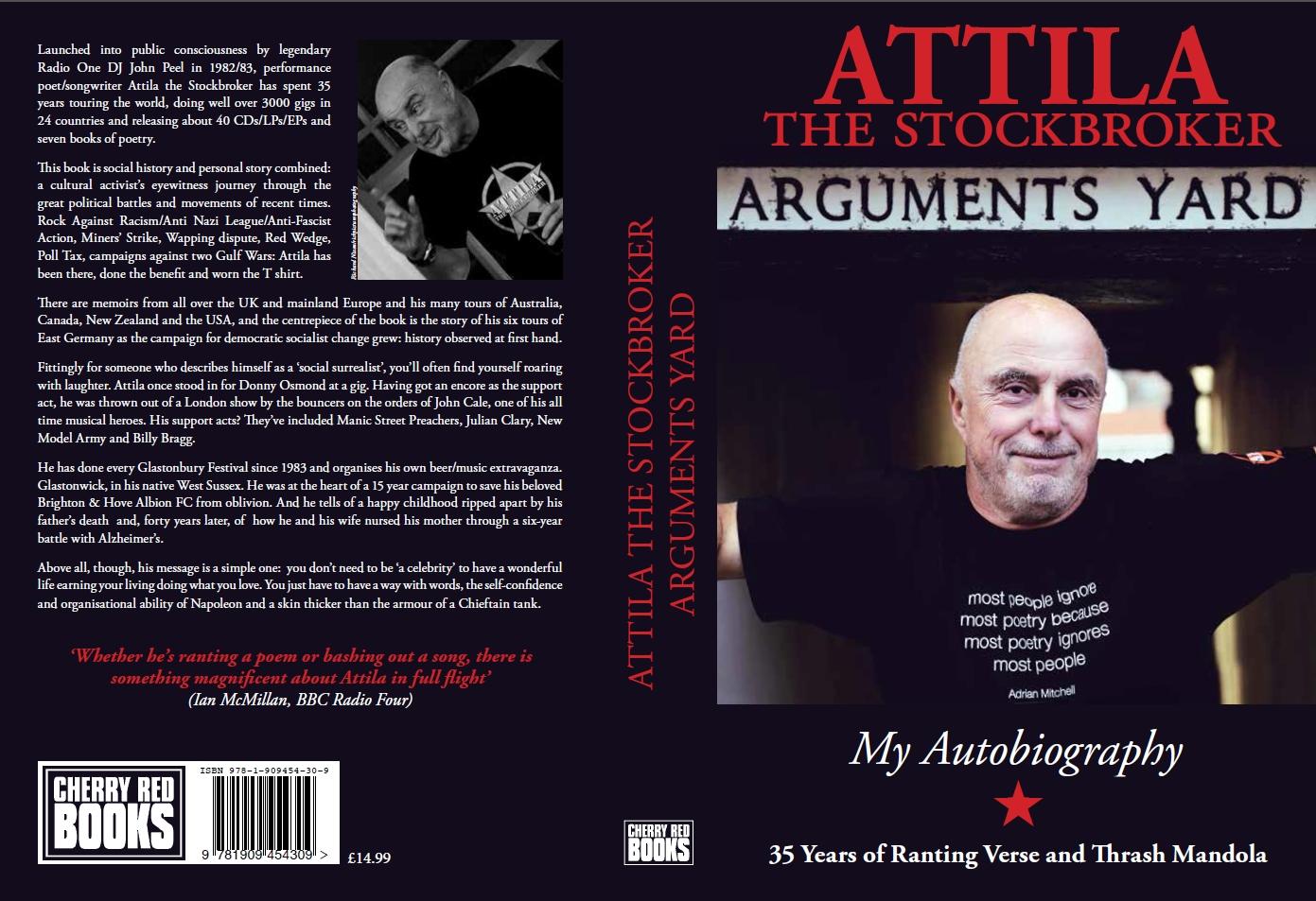 Attila the Stockbroker - Performance poet - poetry - poems